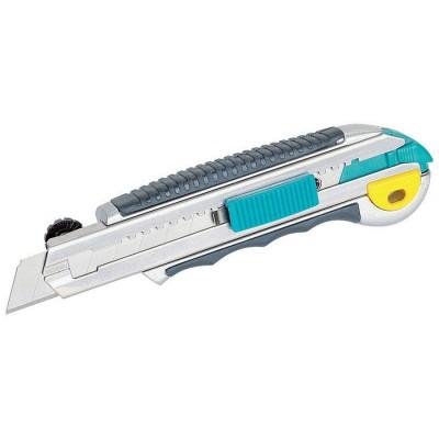 Nóż metalowy profesjonalny z 8 ostrzami 18 mm WOLFCRAFT (nr kat. 4136000)