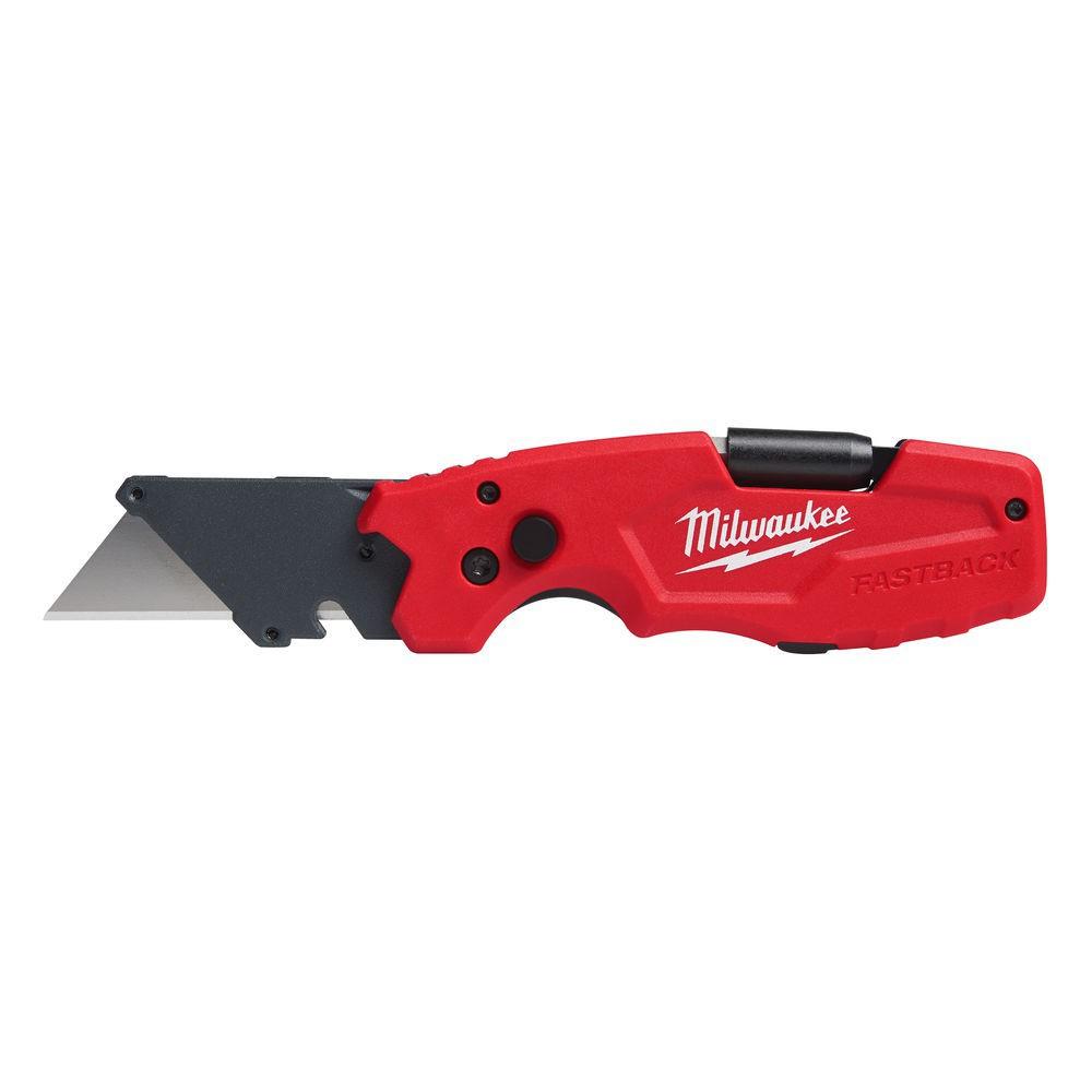 Nóż otwierany z ostrzem trapezowym 6 w 1 FASTBACK MILWAUKEE (nr kat. 4932478559)