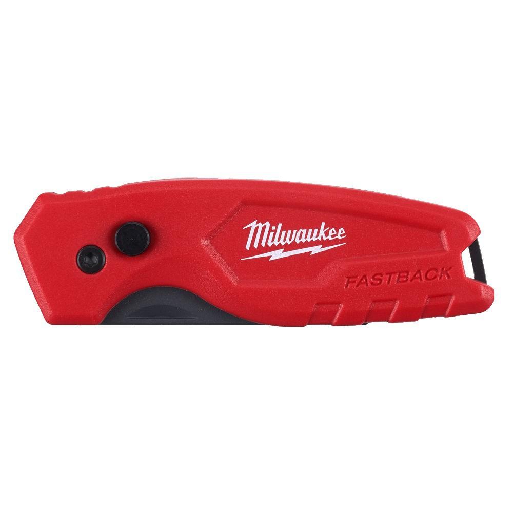 Nóż rozkładany trapezowy FASTBACK MILWAUKEE (nr kat. 4932471356)