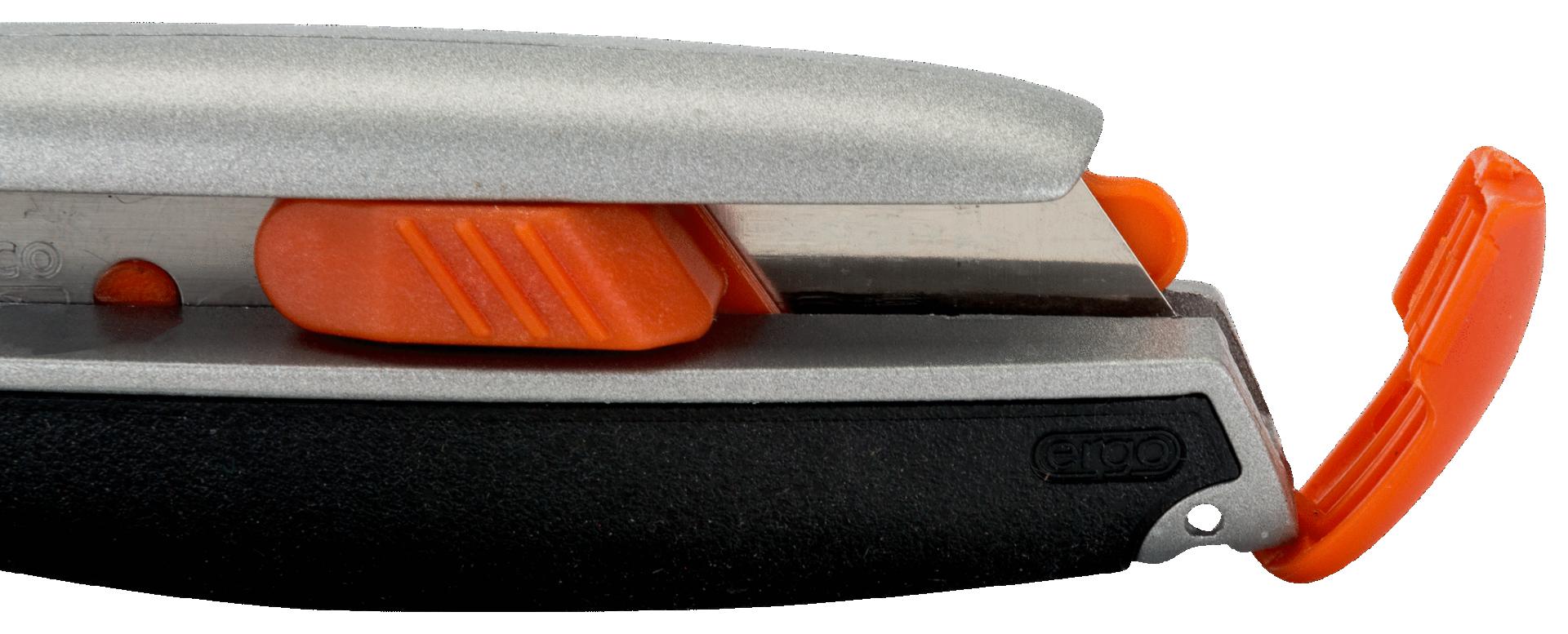 Nóż z ostrzem łamanym 18 mm z magazynkiem Ergo Bahco (nr kat. KE18-01)