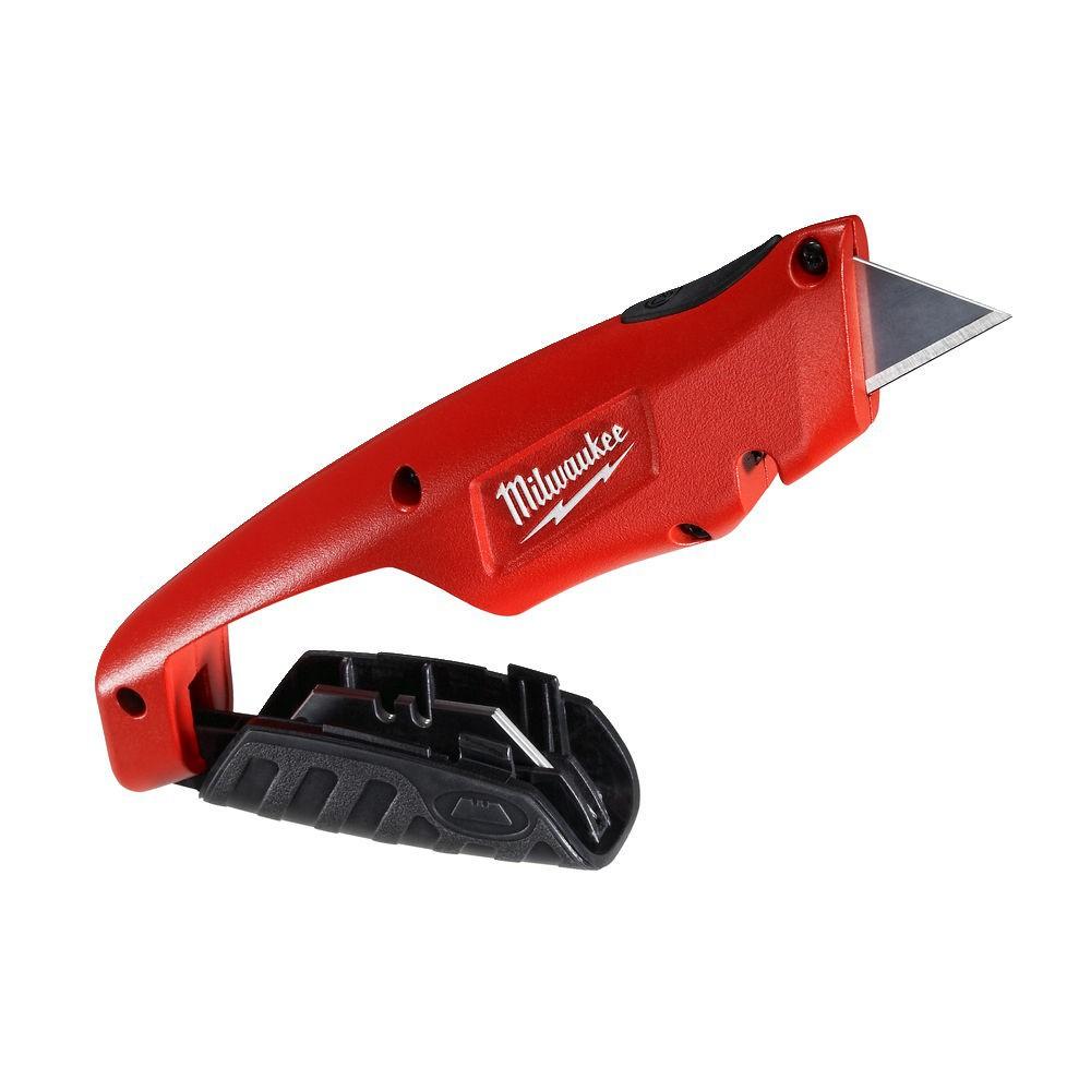 Nóż z wysuwanym ostrzem trapezowym HEAVY DUTY MILWAUKEE (nr kat. 4932471359)