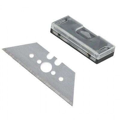Ostrza trapezowe Profi szerokość: 61mm / grubość: 0,65mm - 10 szt. WOLFCRAFT (nr kat. 4307000)