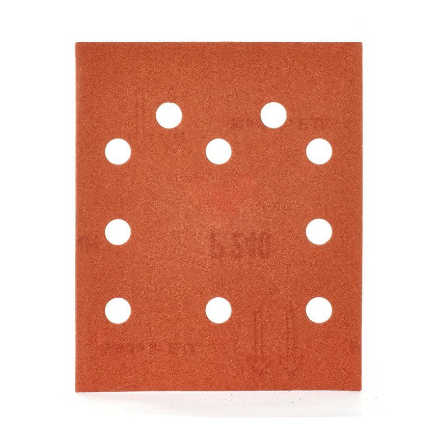 Papier ścierny prostokątny 115x140 mm gr. 240 10szt. MILWAUKEE (nr kat. 4932430821)