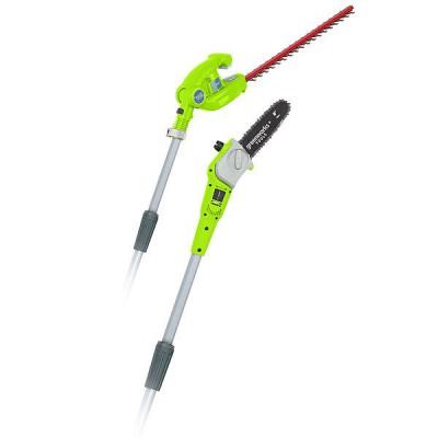 Pilarka / nożyce do żywopłotu akumulatorowe 40V 2w1 GREENWORKS (nr kat. GR1300607)