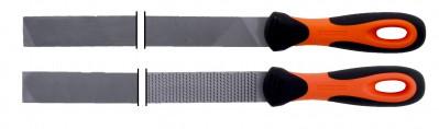 Pilniki warsztatowe zestaw 200 mm 2 cz. Ergo Bahco (nr kat. 4-154-08-2-2)