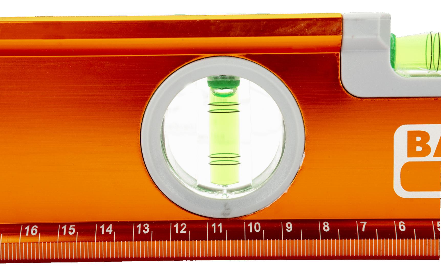 Poziomica 1000 mm aluminiowa, anodowana Bahco (nr kat. 466-1000)