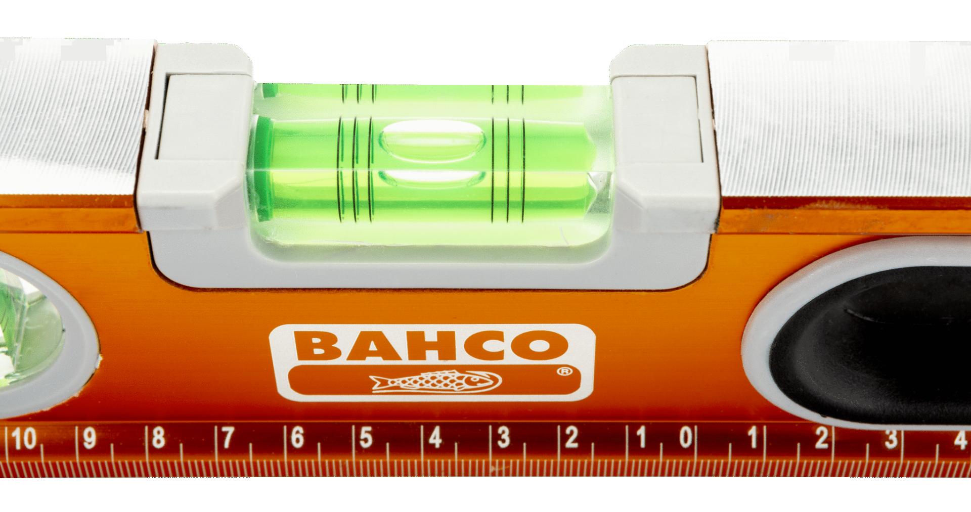 Poziomica 600 mm aluminiowa, anodowana Bahco (nr kat. 466-600)