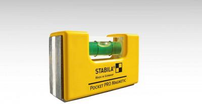 Poziomica magnetyczna kieszonkowa 6,7 cm Pocket PRO Magnetic STABILA (nr kat. 17953)