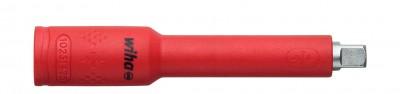 """Przedłużka izolowana 1/4"""" 75 mm 1000V VDE WIHA (nr kat. 43059)"""