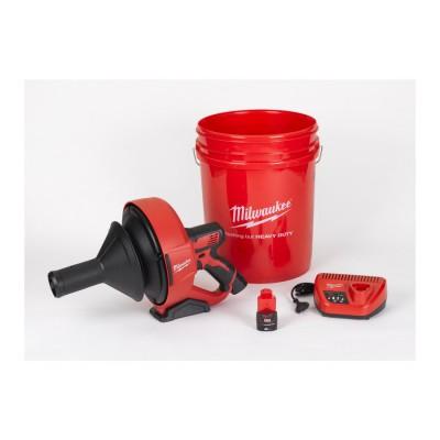 Przepychacz do rur akumulatorowy 6 mm M12 BDC6-202C MILWAUKEE (nr kat. 4933451635)
