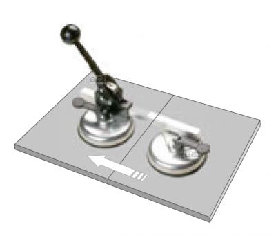 Przyssawka aluminiowa z mechanizmem zapadkowym 11,7 cm Piher (nr kat. P30102)