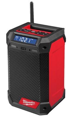 Radio budowlane DAB+ z ładowarką M12 RCDAB+-0 MILWAUKEE (nr kat. 4933472114)