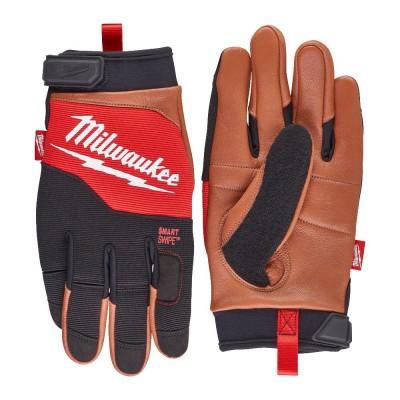 Rękawice skórzane hybrydowe rozm. M/8 MILWAUKEE (nr kat. 4932471912)