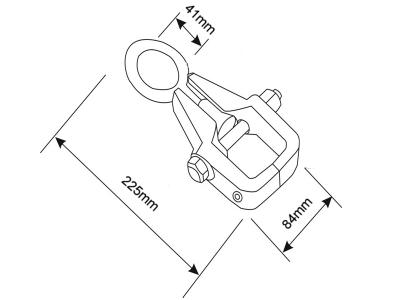 Ścisk blacharski Bahco (nr kat. BH8BC5)