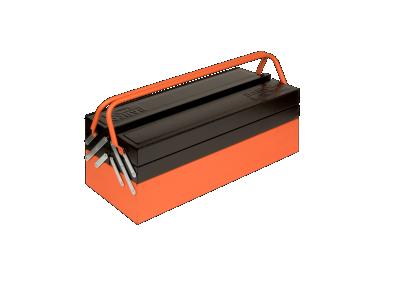 Skrzynka narzędziowa metalowa 5 cz. Bahco (nr kat. 1497MBF550)