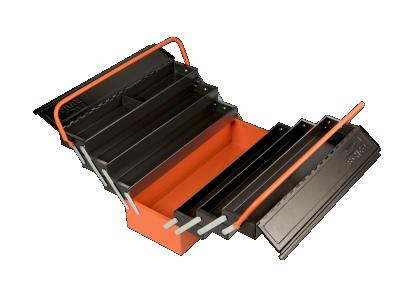 Skrzynka narzędziowa metalowa 7 cz. Bahco (nr kat. 1497MBF750)