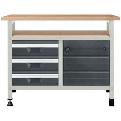 Stół warsztatowy 113cm No. 3 WOLFCRAFT (nr kat. WF8062000)