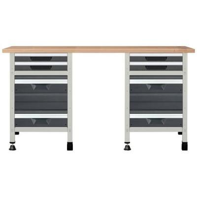 Stół warsztatowy 161cm No. 4 WOLFCRAFT (nr kat. WF8078000)