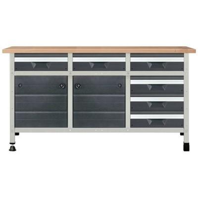Stół warsztatowy 161cm No. 5 WOLFCRAFT (nr kat. WF8079000)