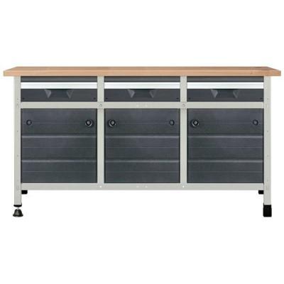Stół warsztatowy 161cm No. 6 WOLFCRAFT (nr kat. WF8080000)