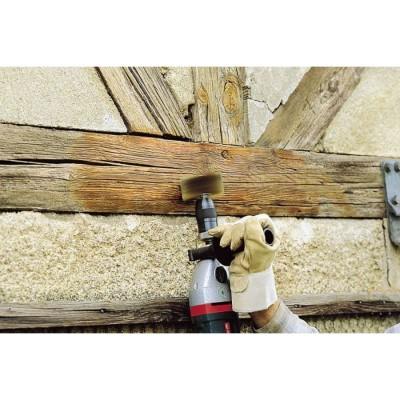 Szczotka do nadawania struktury drewna 80/40 mm trzpień 8 mm WOLFCRAFT (nr kat. 2265000)