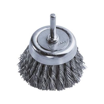 Szczotka doczołowa 65 mm/6 mm drut splatany WOLFCRAFT (nr kat. 2704000)