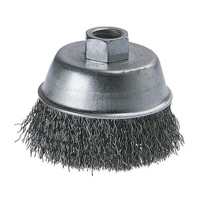 Szczotka doczołowa 70 mm/M14 drut falisty WOLFCRAFT (nr kat. 8479000)