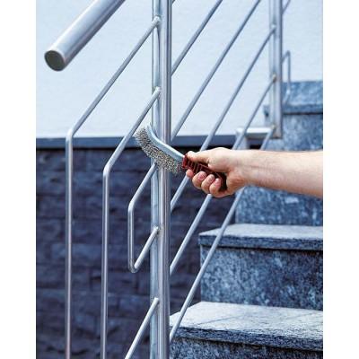 Szczotka ręczna 1-rzędowa 265 mm drut INOX WOLFCRAFT (nr kat. 2717000)