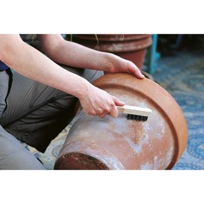 Szczotka ręczna 3-rzędowa 200 mm drut stalowy WOLFCRAFT (nr kat. 2718000)