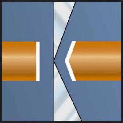 Szczypce boczne antystatyczne ESD 108 mm Ultra-Flusch LINDSTROM (nr kat. 8132)