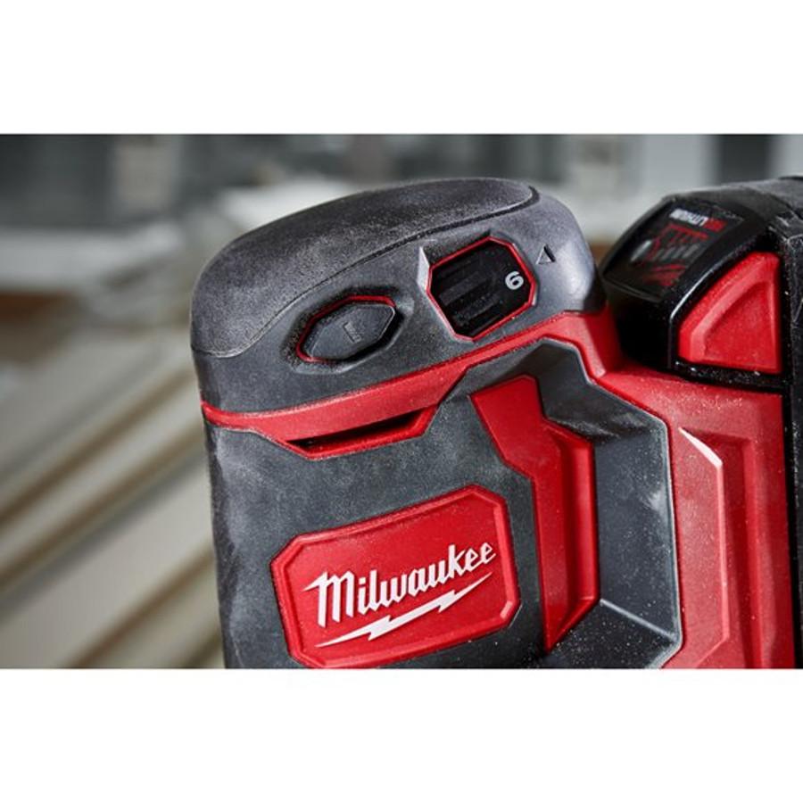 Szlifierka Mimośrodowa akumulatorowa 125mm M18 BOS125-0 MILWAUKEE (nr kat. 4933464228)