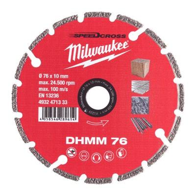 Tarcza diamentowa 76 mm DHMM MILWAUKEE (nr kat. 4932471333)