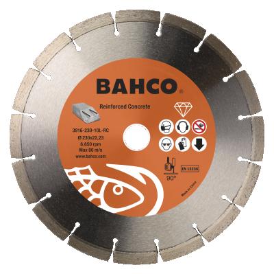 Tarcza diamentowa do betonu zbrojonego Ø 230 mm Bahco (nr kat. 3916-230-10L-RC)