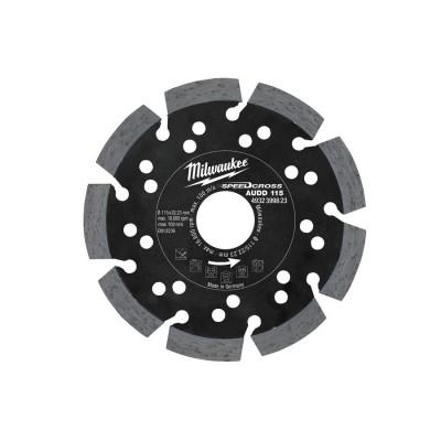 Tarcza diamentowa fi 115 mm SPEEDCROSS AUDD 115 MILWAUKEE (nr kat. 4932399823)