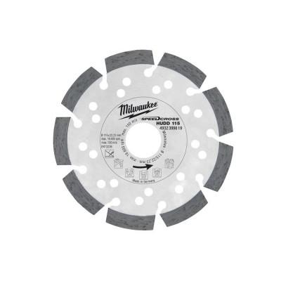 Tarcza diamentowa fi 115 mm SPEEDCROSS HUDD 115 MILWAUKEE (nr kat. 4932399819)