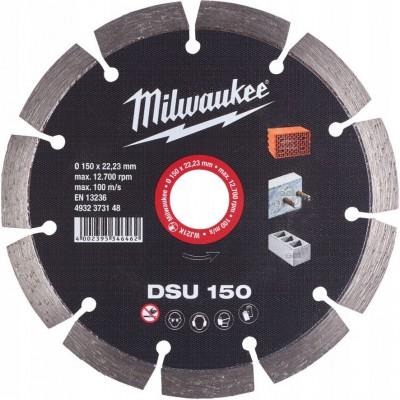 Tarcza diamentowa fi 150 mm DSU 150 MILWAUKEE (nr kat. 4932373148)