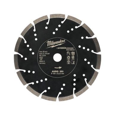 Tarcza diamentowa fi 150 mm SPEEDCROSS AUDD 150 MILWAUKEE (nr kat. 4932399825)
