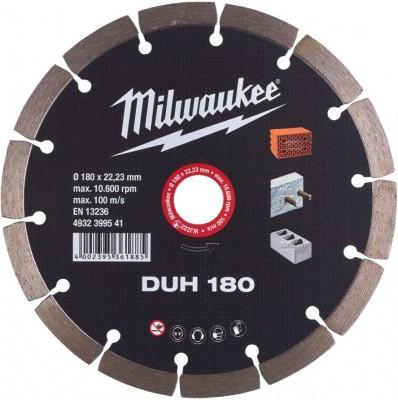 Tarcza diamentowa fi 180 mm DUH 180 MILWAUKEE (nr kat. 4932399541)