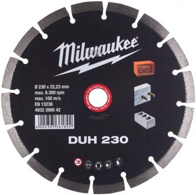 Tarcza diamentowa fi 230 mm DUH 230 MILWAUKEE (nr kat. 4932399542)