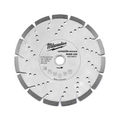 Tarcza diamentowa fi 230 mm SPEEDCROSS HUDD 230 MILWAUKEE (nr kat. 4932399822)