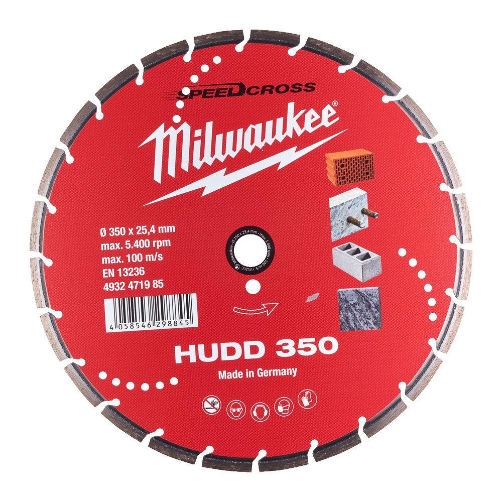 Tarcza do cięcia diamentowa 350 mm HUDD350 Speedcross MILWAUKEE (nr kat. 4932471985)