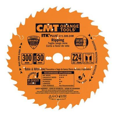 Tarcza pilarska do drewna Ø 150 x 20 mm 24 zęby CMT (nr kat. 271.150.24H)