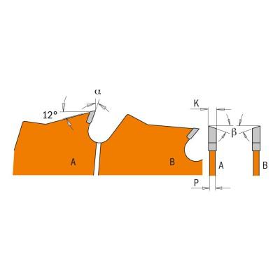 Tarcza pilarska do drewna Ø 250 x 30 mm 24 zęby CMT (nr kat. 271.250.24M)