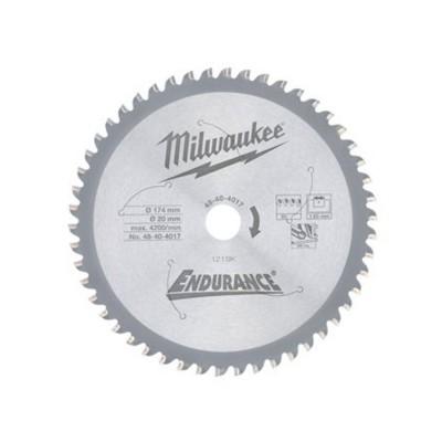 Tarcza pilarska do metalu 174 x 20 mm 50 zębów Milwaukee (nr kat. 48404017)