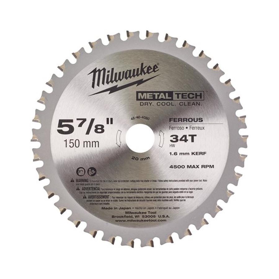 Tarcza pilarska do metalu 203 x 15,87 mm 42 zęby Milwaukee (nr kat. 48404515)