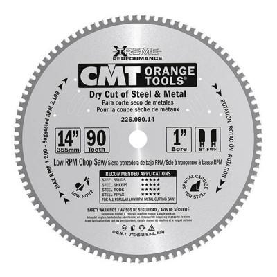 Tarcza pilarska do metalu Ø 355 x 30 mm 90 zębów CMT (nr kat. 226.090.14M)