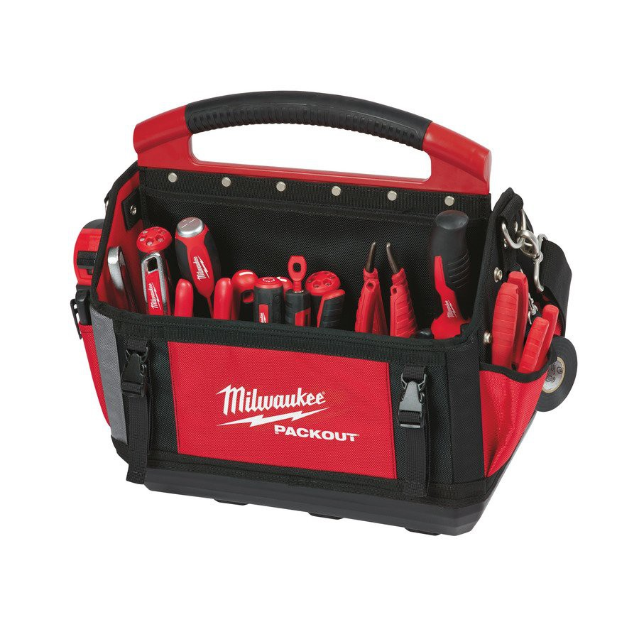 Torba PACKOUT 40 cm + organizer PACKOUT SLIM - średni MILWAUKEE (nr kat. 4932478810)