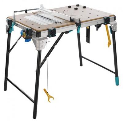 Wielofunkcyjny stół maszynowo - roboczy z dodatkową płytą maszynową master cut 2600 pro WOLFCRAFT (nr kat. 6918300)