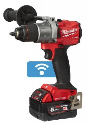 Wiertarko-wkrętarka akumulatorowa 135 Nm M18 ONEDD2-502X ONEKEY MILWAUKEE (nr kat. 4933464525)
