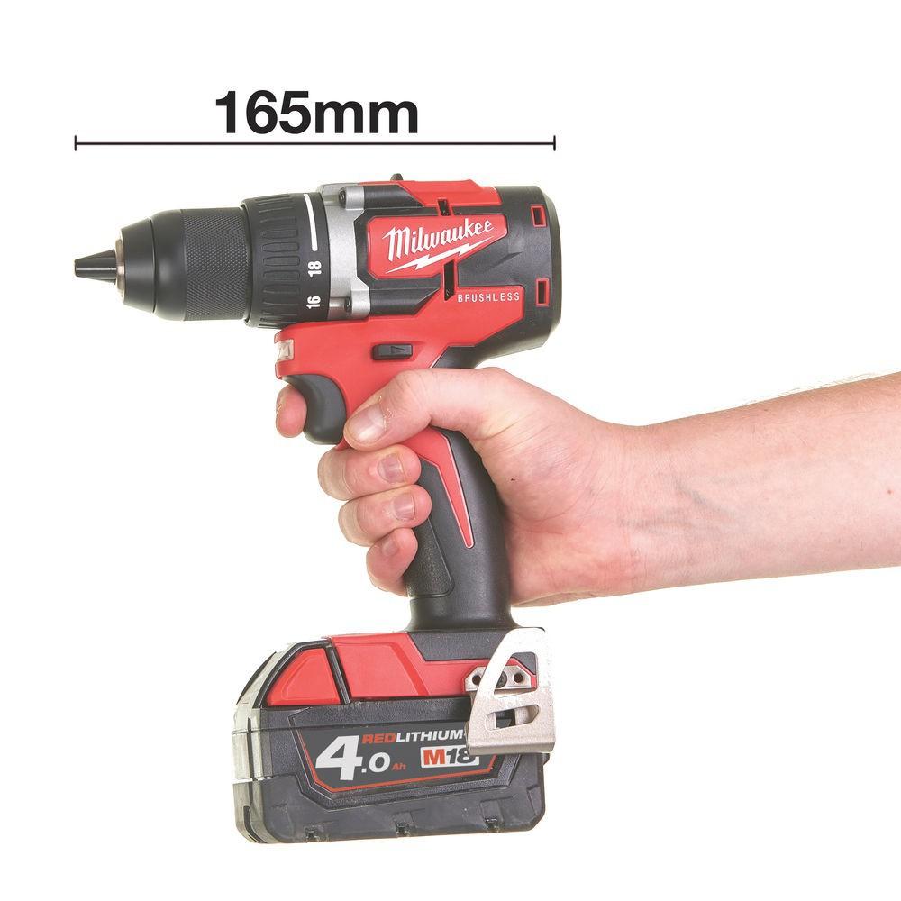 Wiertarko-wkrętarka akumulatorowa 60 Nm M18 CBLDD-0 MILWAUKEE (nr kat. 4933464316)